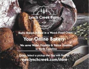 Lynch Creek Farm Artisan Bakery Notecard